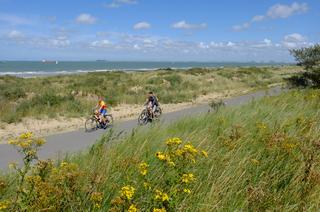 StrandStrand Groede fietsen Groede